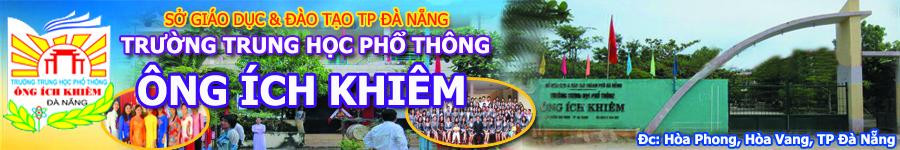 Trường THPT Ông Ích Khiêm